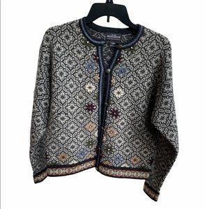 Vintage Woolrich women's sweater cardigan size S